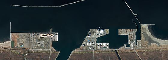 臨港地区及び分区